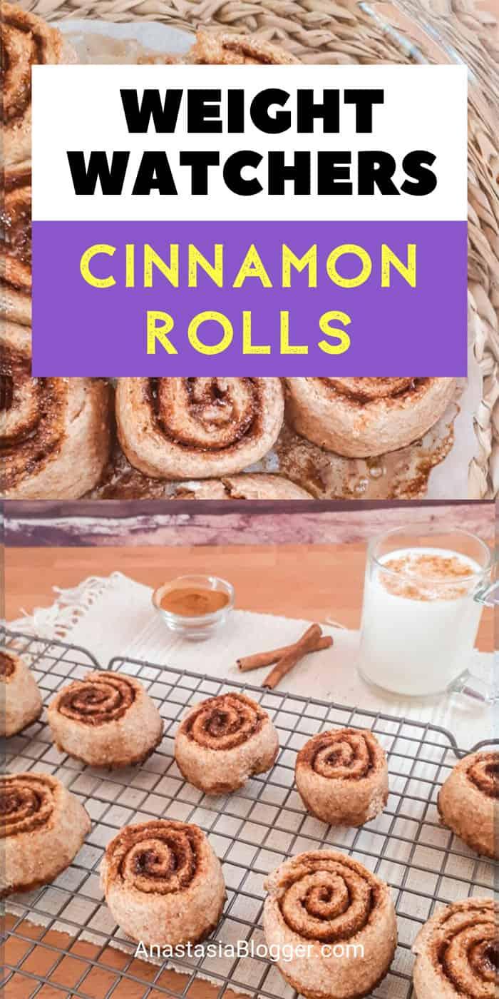 Best Weight Watchers Cinnamon Rolls - No Sugar or Refined Flour