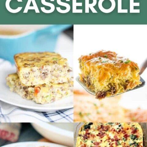 10 Best Keto Breakfast Casserole Recipes for Ketogenic Diet