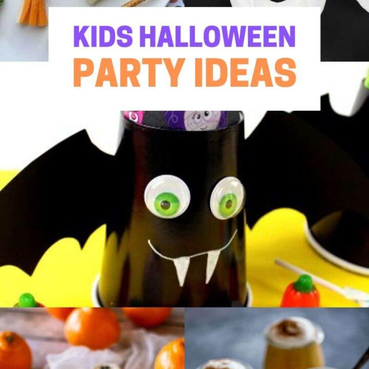 12 Best Kids Halloween Party Ideas - Spooky Treats, Desserts and Snacks