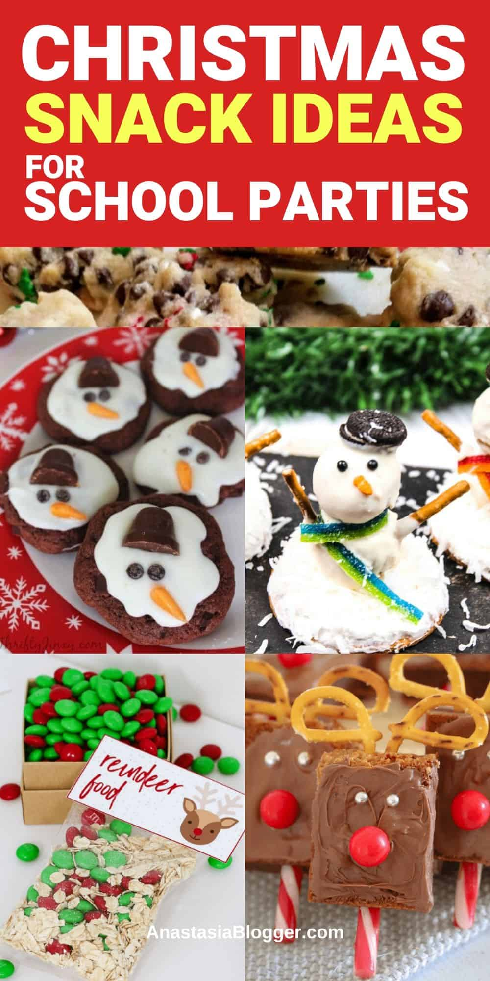 16 Easy Christmas Snack Ideas For School Parties Winter Snacks For Kids