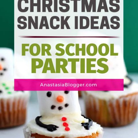 16 Easy Christmas Snacks for School Parties - Winter Snack Ideas for Kids