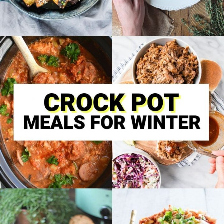 15 Hearty Crock Pot Meals For Winter | Healthy Winter Recipes
