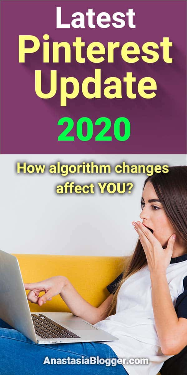 A new Pinterest update 2020 just happened, some algorithm or interface changes seem to be occurring as we speak, and your traffic is either going down or up. Pinterest marketing tips for bloggers. Pinterest tips and social media marketing, blogging tips. #pinterestmarketing #blogging #blog #blogtips #blogger #socialmedia #socialmediatips