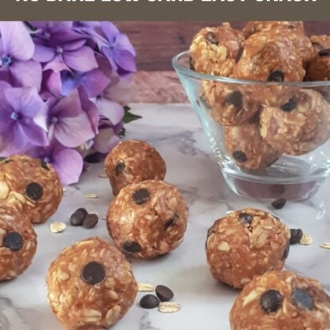 Quick Weight Watchers Peanut Butter Energy Balls - No Bake Low Carb Easy Snack