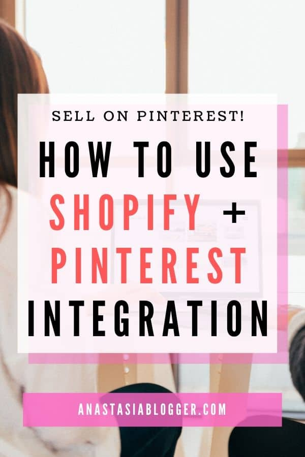 integrate shopify and pinterest