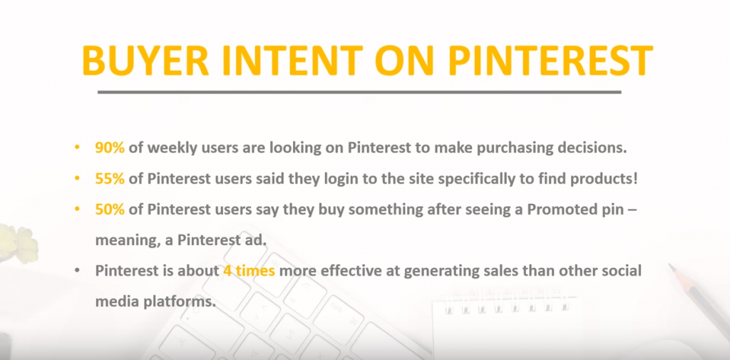 buyer intent on pinterest