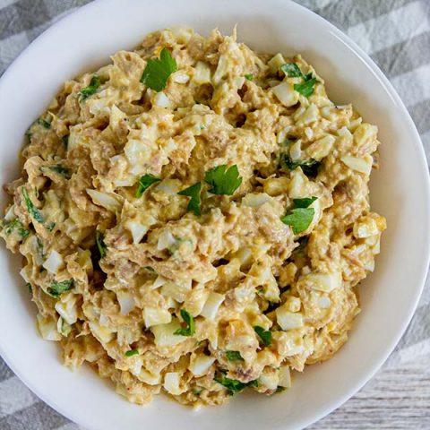 Weight Watchers Tuna & Egg Salad