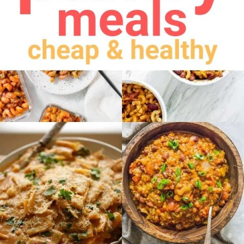 15 Best Easy Pantry Meals - Cheap & Healthy Dinners for When You Have to Stay at Home