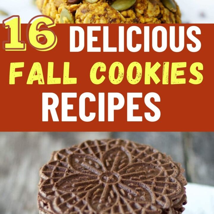 The Best Fall Cookies - Delicious Fall Desserts for Your Family!
