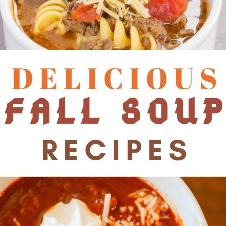 Fall Soups - 15 Best Soup Recipes for Fall
