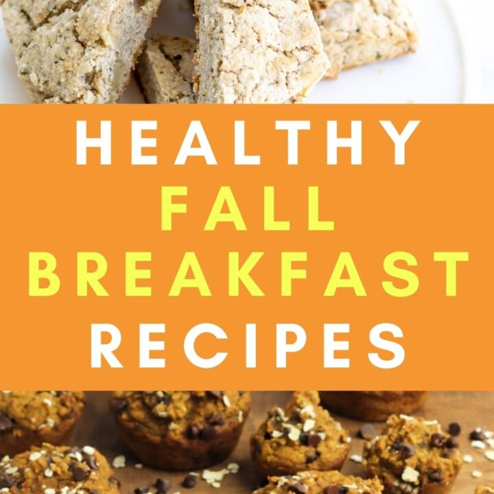 Healthy Fall Breakfast Ideas - Creative Recipes with Fall Flavors