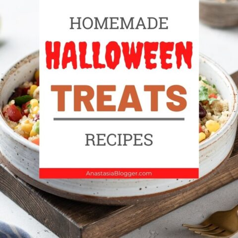 Homemade Halloween Treats or Appetizers - Best Party Snacks