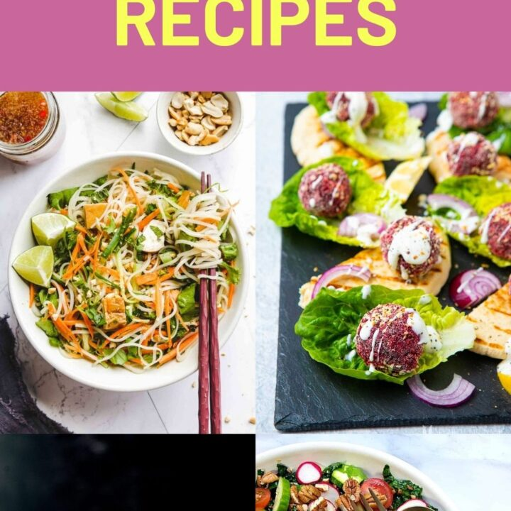 Vegan Lunch Recipes - Easy Vegan Lunches For Work Or School
