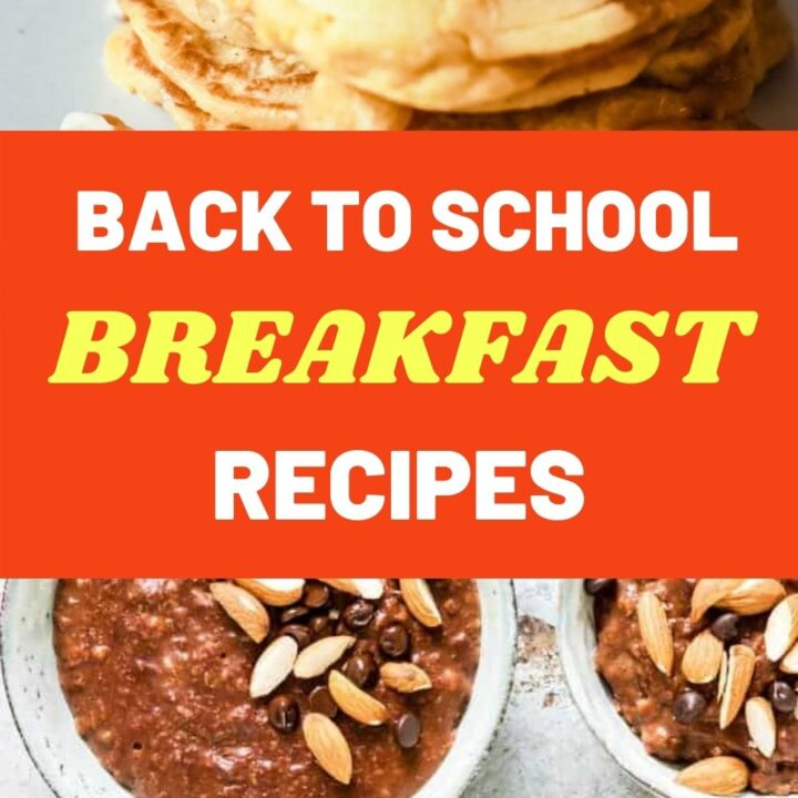 Easy Back to School Breakfasts to Make with Kids
