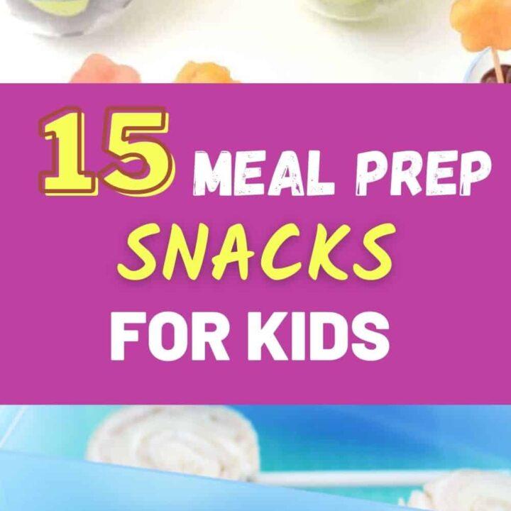 Easy Meal Prep Ideas: Tasty Snacks for Preschoolers!