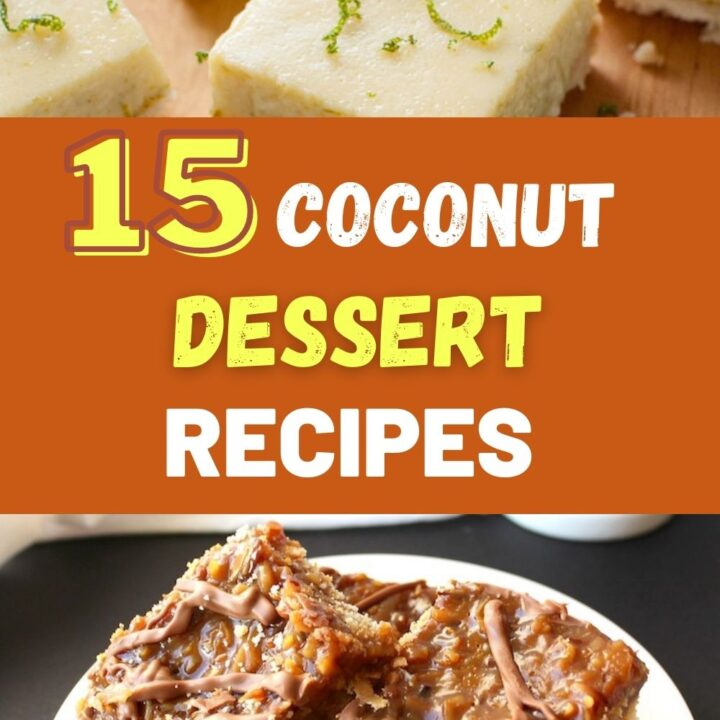 Coconut Dessert Recipes - Best Coconut Cakes | Cupcakes and More!