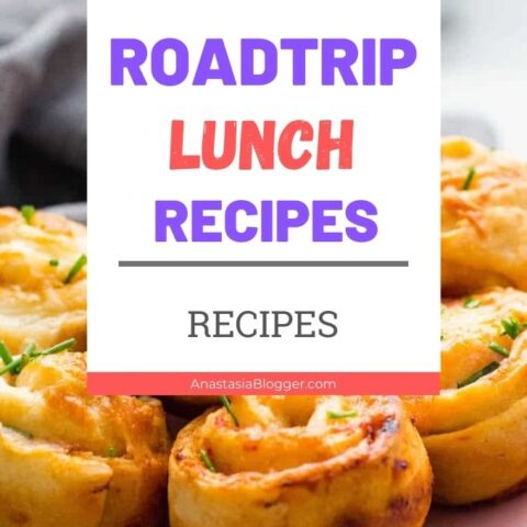 Healthy Lunch Ideas for Road Trips - 15 Quick Make Ahead Meals