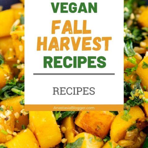 Vegan Recipes with Fall Harvest - Apple and Squash Vegan Recipes