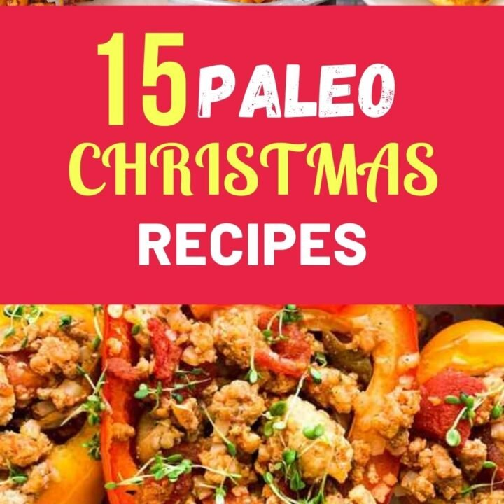 PALEO Christmas Cookies Recipes - 15 Best Paleo Holiday Cookies