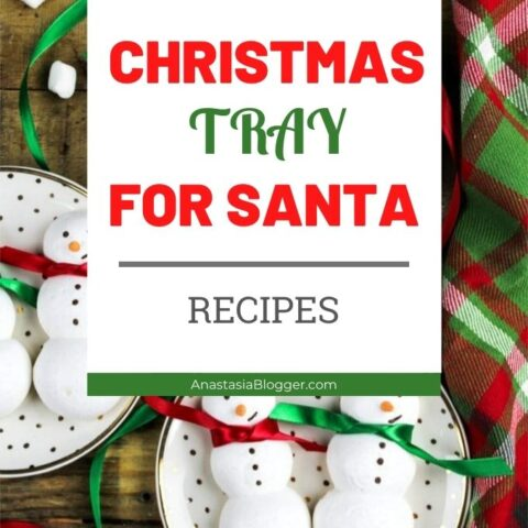 Milk and Cookies for Santa - Best Ideas of Christmas Tray for Santa