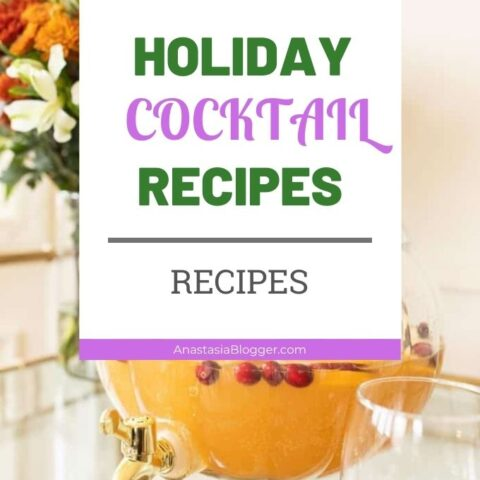 Holiday Cocktail Recipes - Best Classic Holiday Drinks