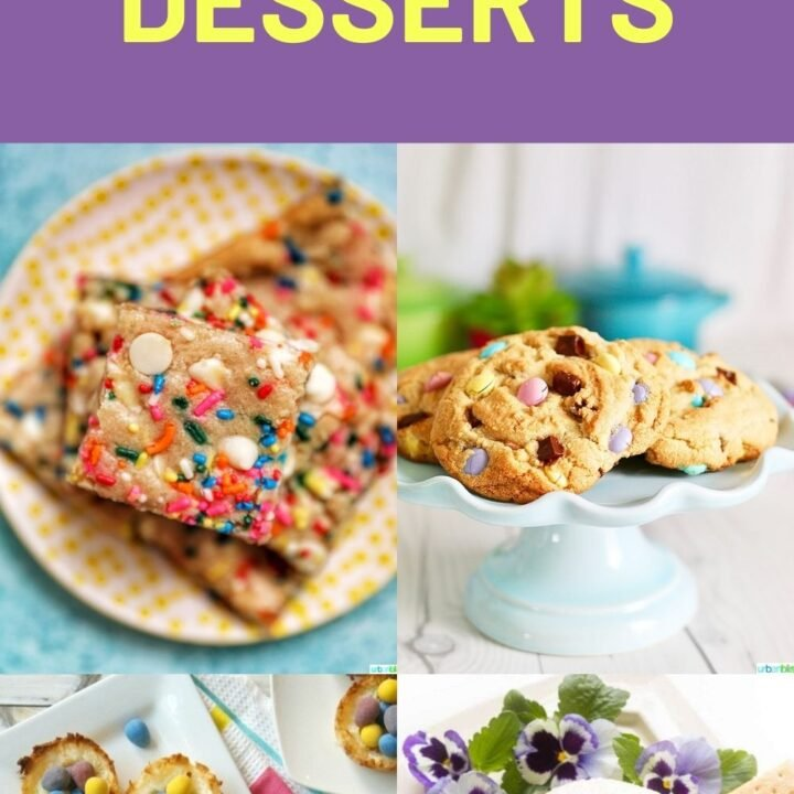 14 Easy Easter Dessert Recipes - Best Ideas for Kids and For a Crowd