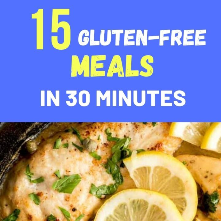Quick Gluten-Free Recipes to Cook in Under 30 Minutes