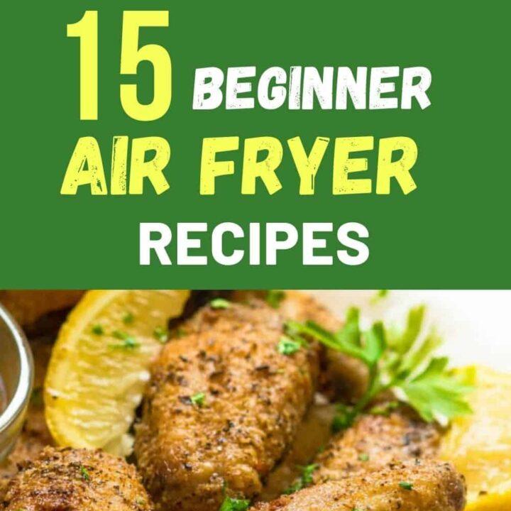 15 Best Air Fryer Recipes for Beginners