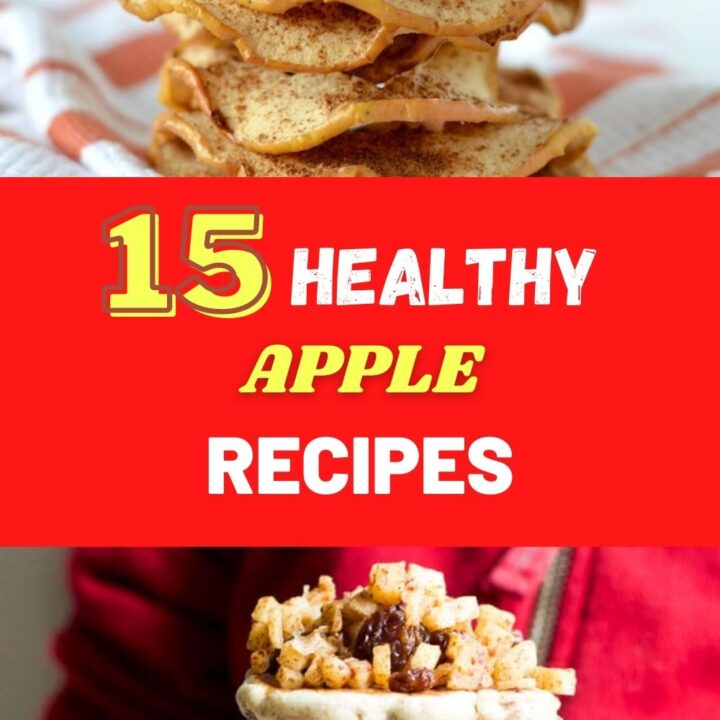 Healthy Apple Recipes - Quick and Easy Apple Desserts and Snacks