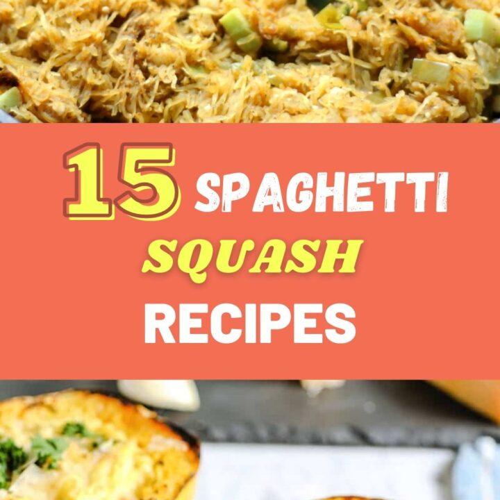 15 Healthy and Delicious Spaghetti Squash Recipes