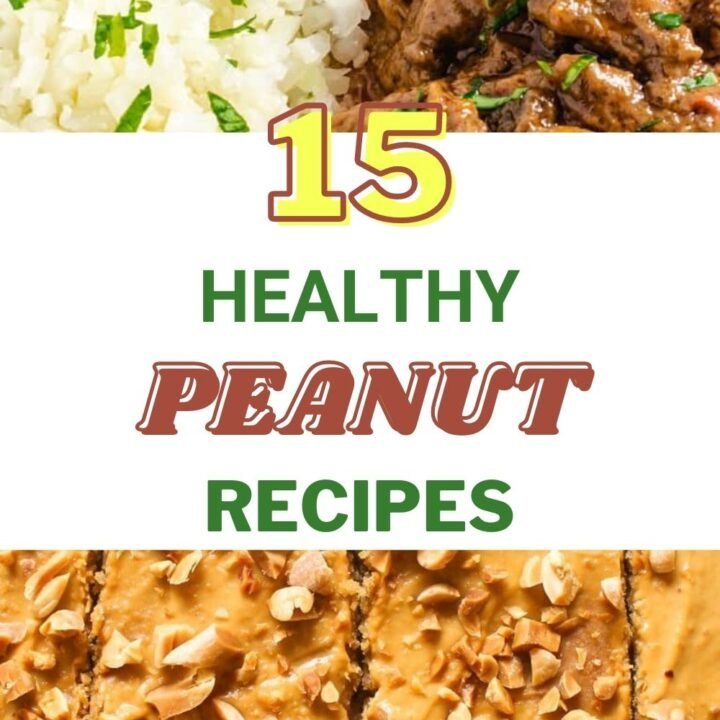 Healthy Recipes With Peanuts - What to do With a Lot of Peanuts
