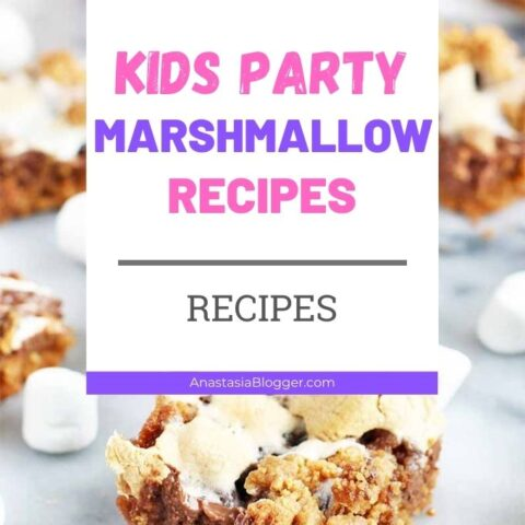 15 Creative Marshmallow Recipes for Kids Party