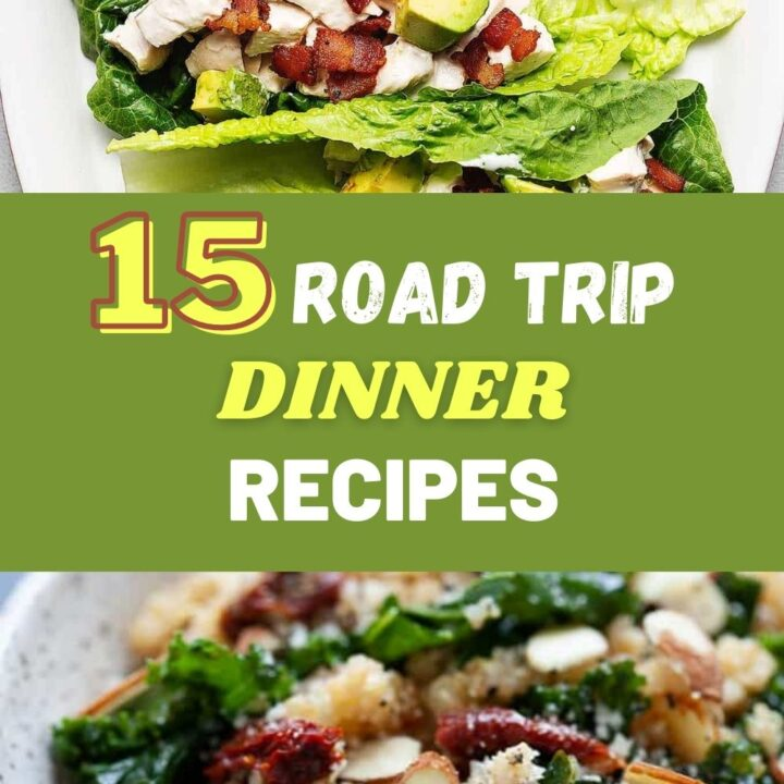 Healthy Road Trip Meals for Dinner – 15 Best Travel Meal Ideas