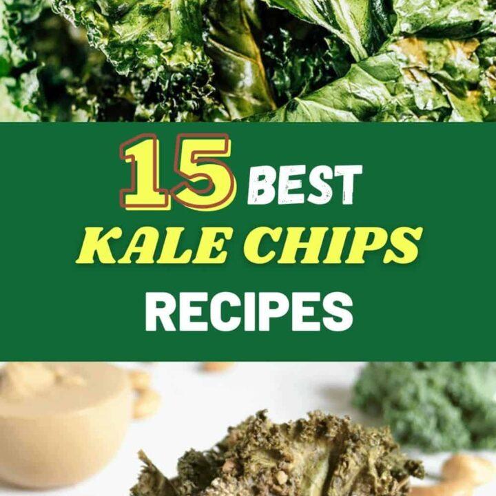 15 Healthy Kale Chips Recipes | Best Kale Chips