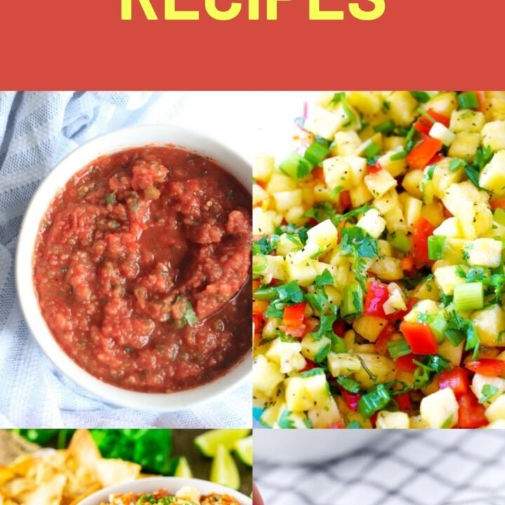 Homemade Salsa Recipes – Mexican and Unique Salsa Recipes