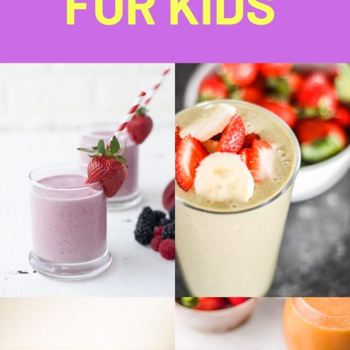 15 Healthy Smoothies for Kids - Easy Smoothie Recipes