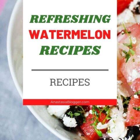 Refreshing Homemade Watermelon Recipes - No Alcohol Recipes