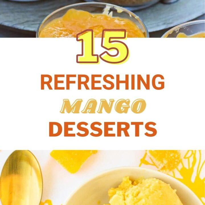 15 Refreshing Mango Desserts   Easy Summer Desserts