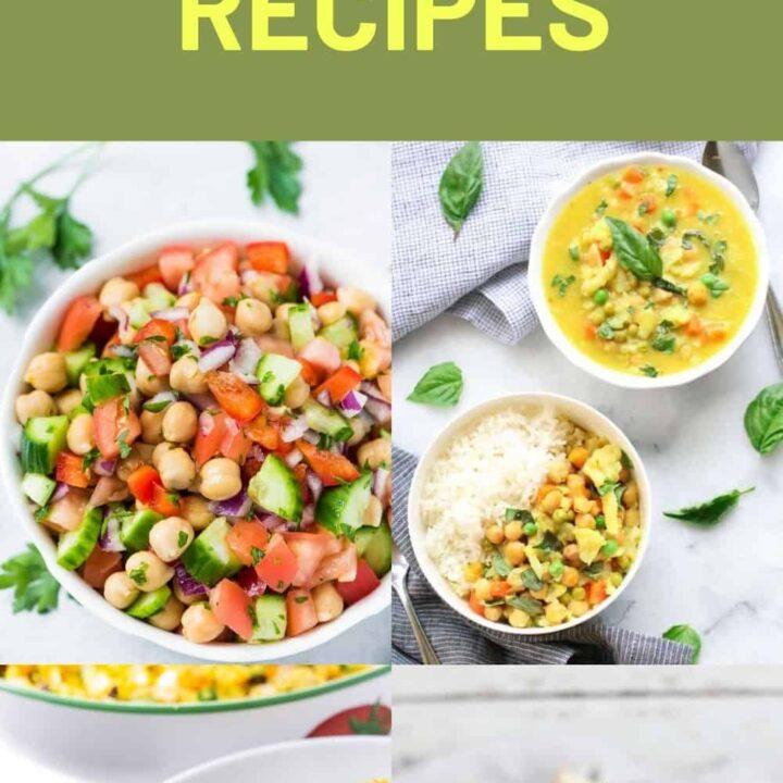 15 Vegan Chickpea Recipes | The Best Chickpea Recipes