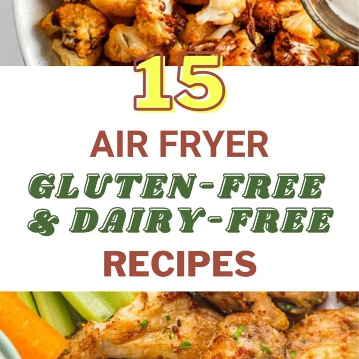 15 Healthy Gluten-Free And Dairy-Free Air Fryer Recipes