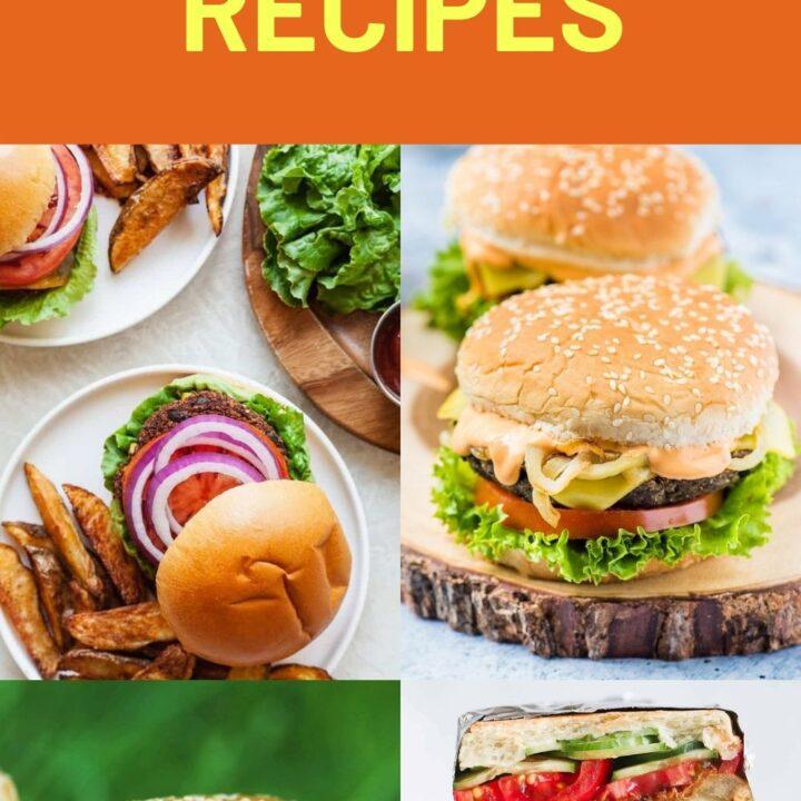 Vegan Burger Recipes - Best Plant-Based Burger Ideas