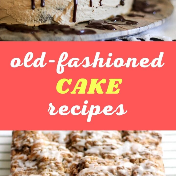 15 Appetizing Old-Fashioned Cake Recipes   Homemade Cake Recipes