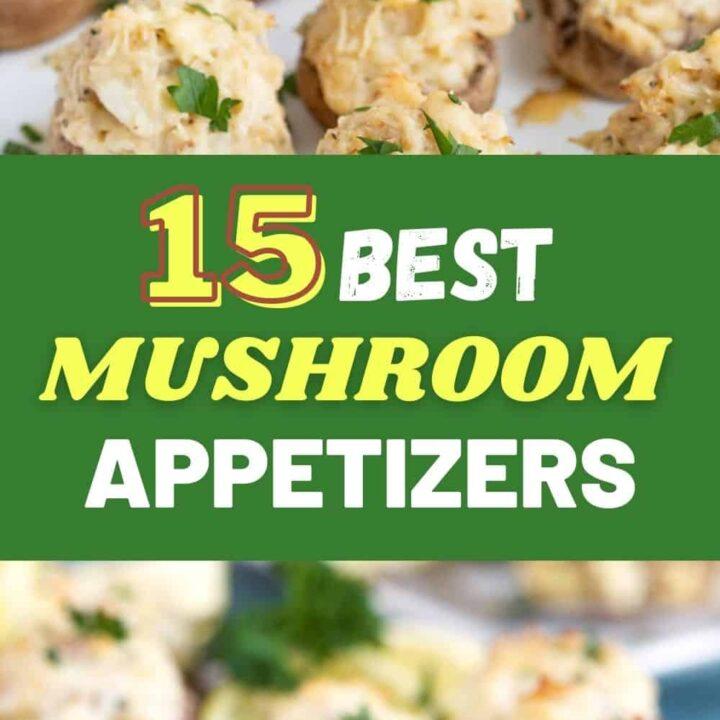 15 Tasty Mushroom Appetizers | Mushroom Recipes