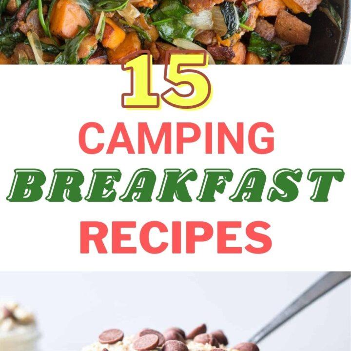 15 Delicious Camping Breakfast Ideas