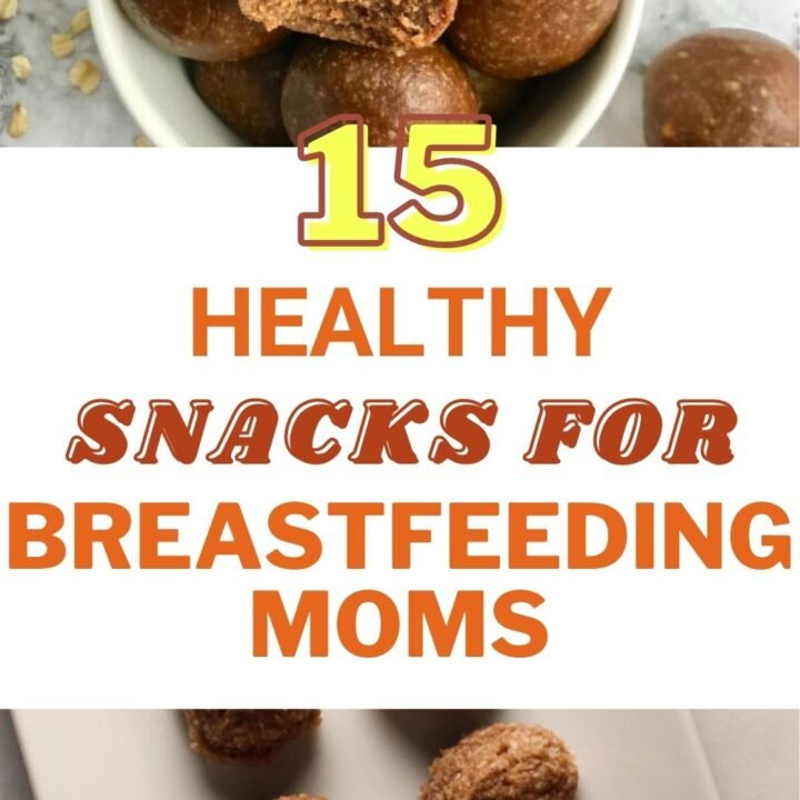 15 Healthy Snacks for Breastfeeding Moms   Healthy Recipes for Moms