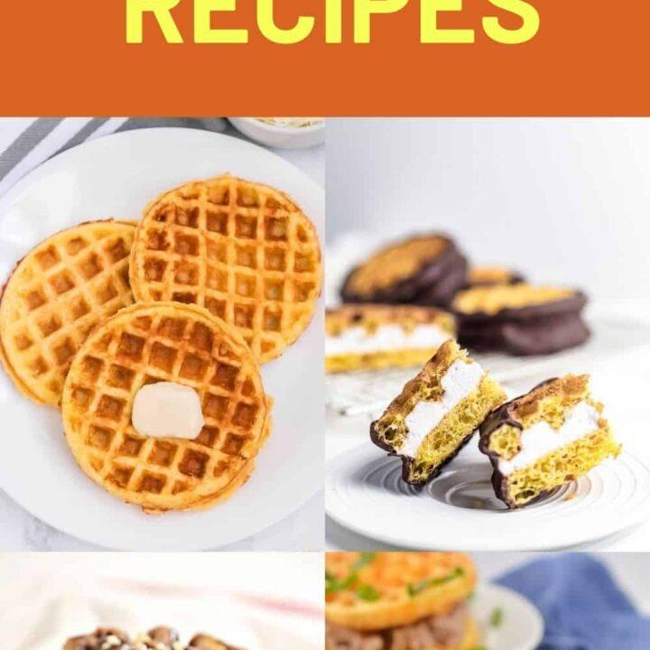 15 Breakfast Chaffle Recipes