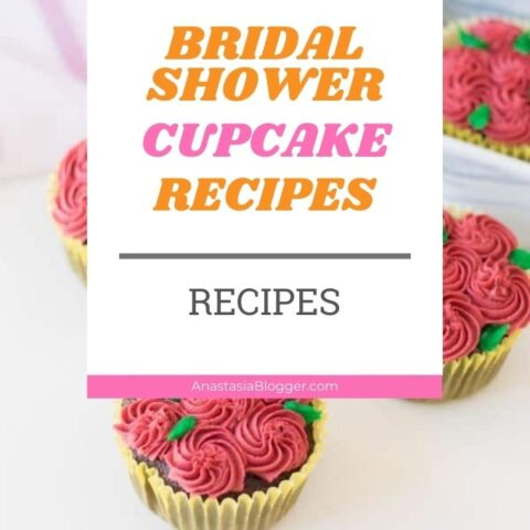 15 Stunning Cupcakes For A Bridal Shower | Wedding Recipes