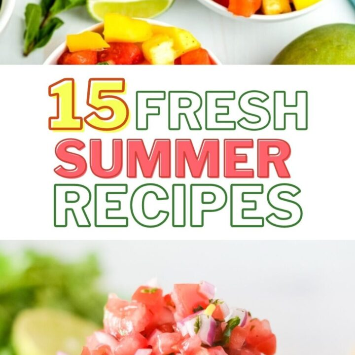 15 Refreshing Summer Recipes Using Fresh Fruits And Vegetables