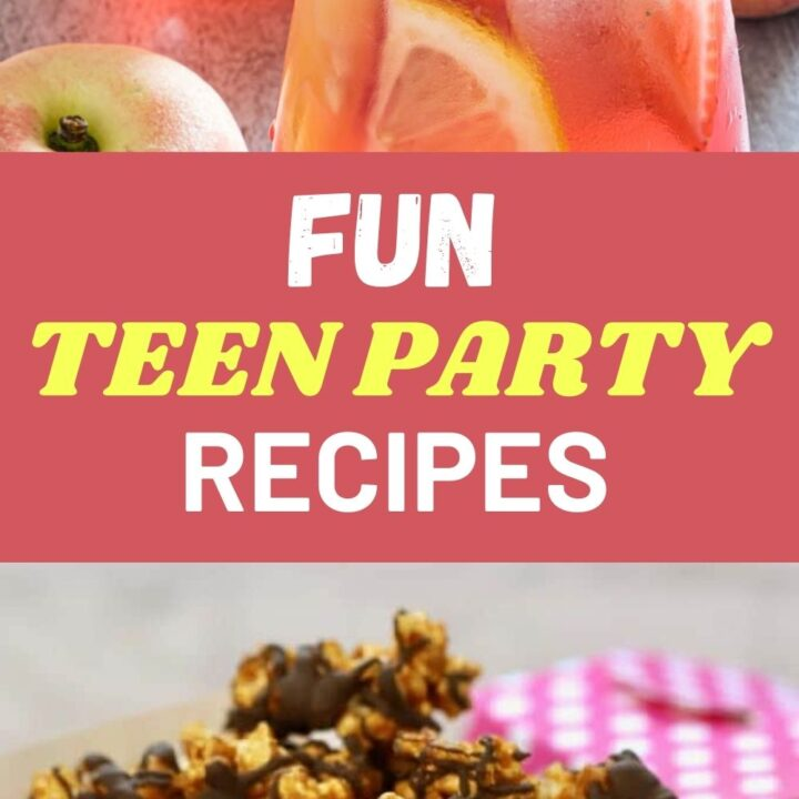 15 Fun Snacks Or Drinks For A Teenagers Party