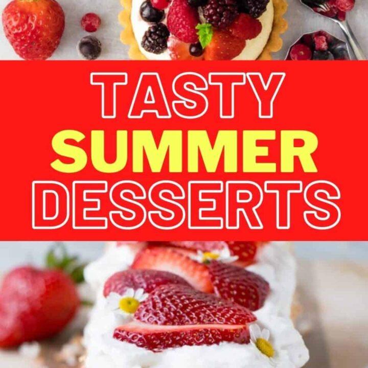 15 Refreshing Summer Dessert Recipes | Healthy Dessert Ideas
